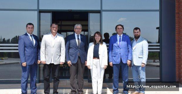 Milletvekili Günay'dan EOSB'YE Ziyaret