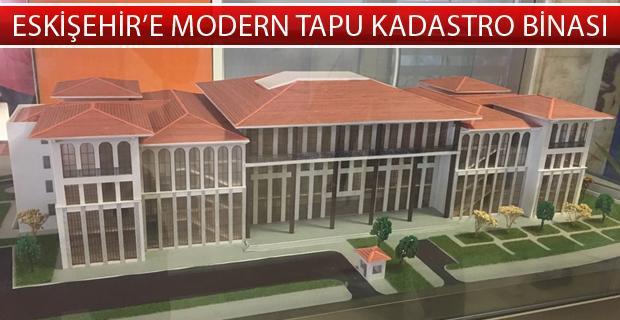 Yeni tapu kadastro binası hızla yükseliyor