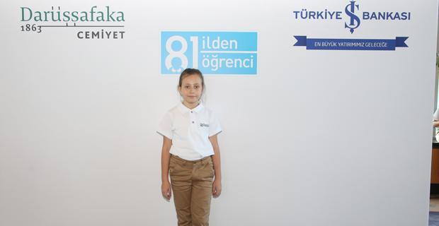 Eskişehir'in gururu İş Bankası desteğiyle Darüşşafaka'da
