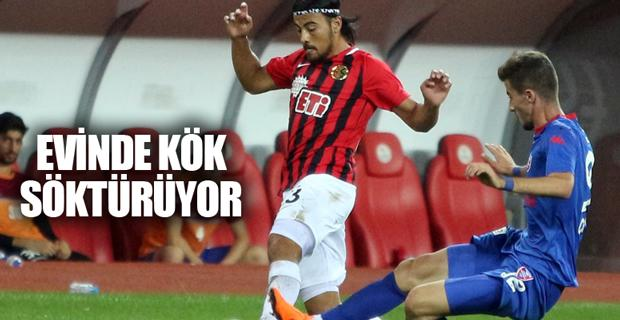 Eskişehirspor evinde kaybetmiyor
