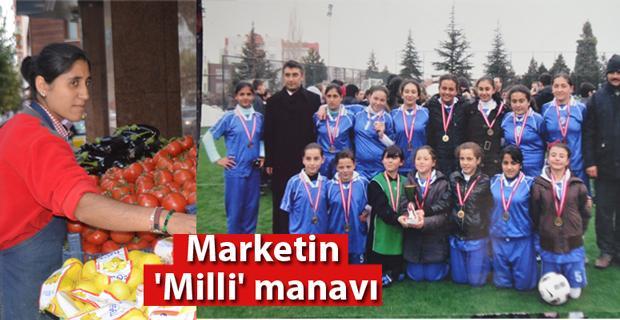 Marketin Milli Sporcusu