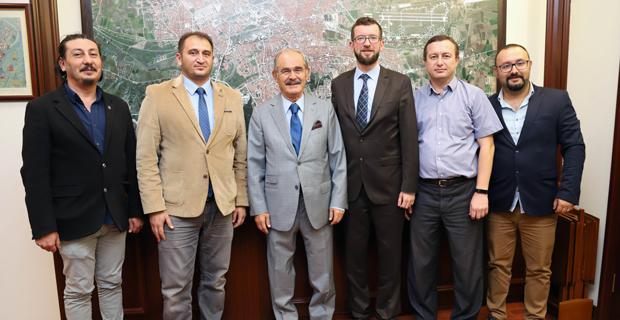 Elektrik mühendisleri Büyükerşen'i ziyaret etti