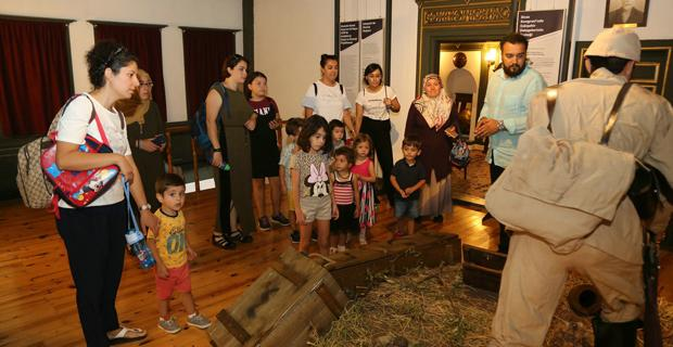 Odunpazarı'nın galerilerine ziyaretçi akını