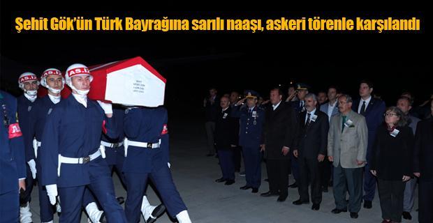 Şehidimizin naaşı Eskişehir'e geldi