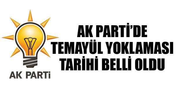 AK Parti temayül yoklamasında bir ilk