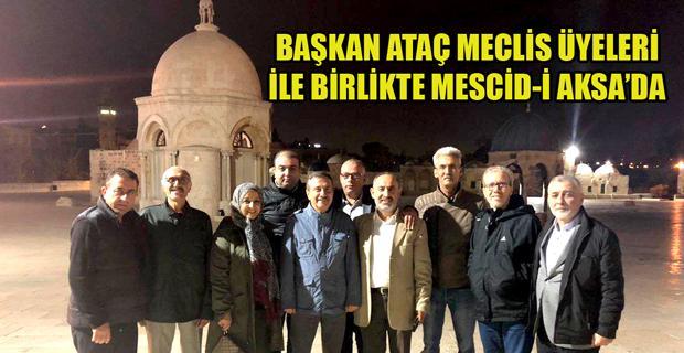 Ataç'tan kardeş şehir Salfeet'e ziyaret