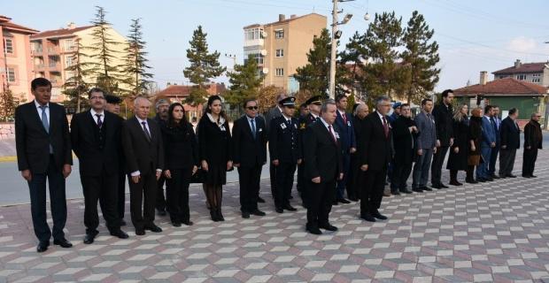 Atatürk, 80. ölüm yıldönümünde İnönü'de de anıldı