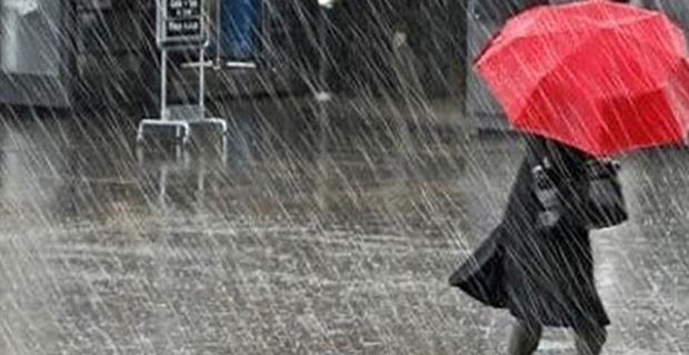 Eskişehir ve çevresi yağışlı