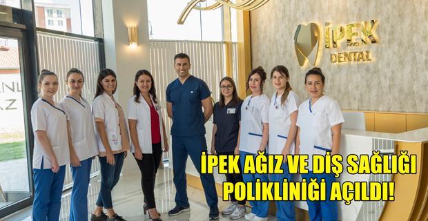 Eskişehir'e yakışır modern diş polikliniği
