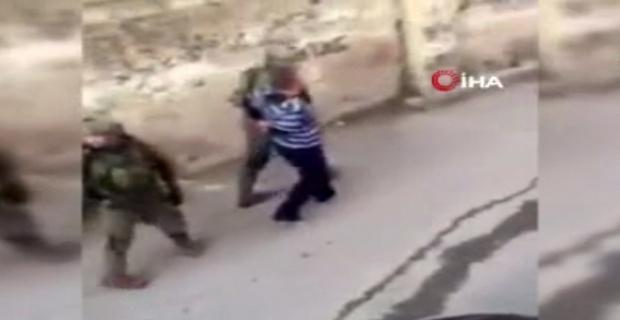İsrail barbarlığı kamerada
