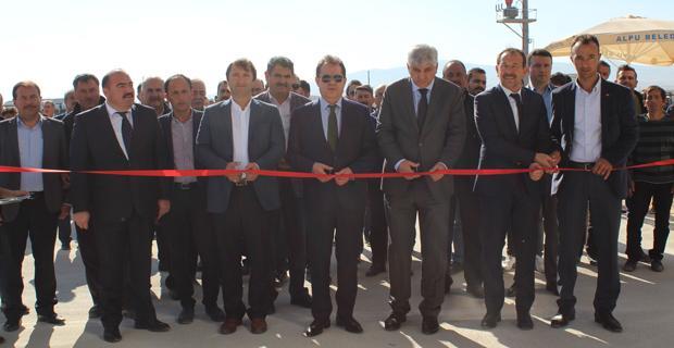 Pancar Koop'ta kurutma tesisleri açıldı