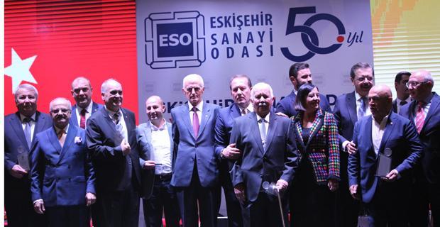 Sanayi Odası 50. yılını coşkuyla kutladı