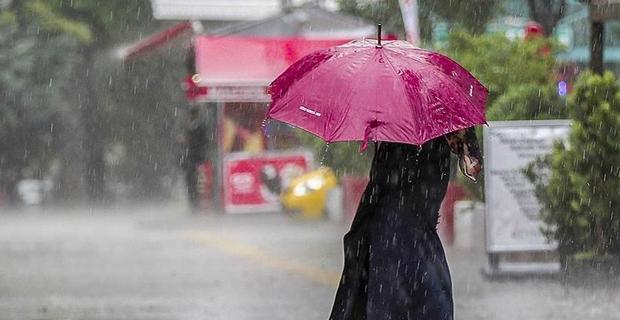 Yağışlı hava uyarısı