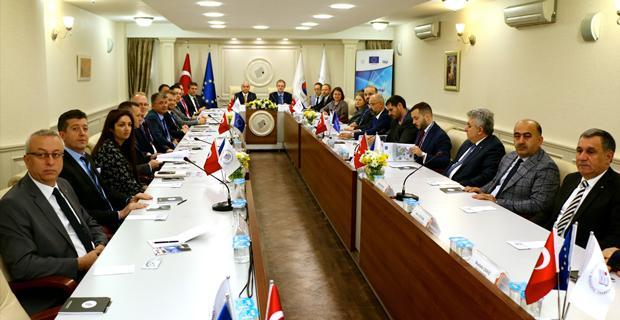 AB ekonomi müsteşarları Eskişehir'de