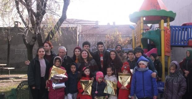 'Bir Çocuk Bir Umut' projesi ile çocukların yüzü güldü