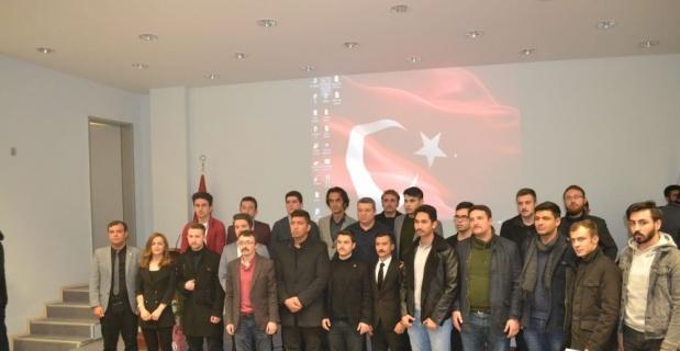 ESOGÜ öğrencilerinden Atsız'ı anma programı