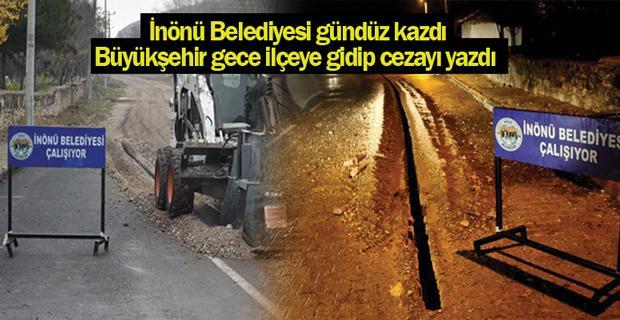 İnönü Belediyesinden Büyükşehir'e tepki