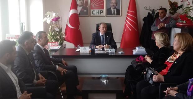 İYİ Parti'den CHP ziyaret