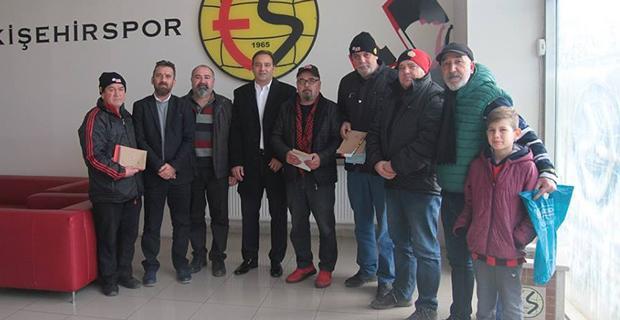 Şehr-i Sevda'dan Eskişehirspor'a destek