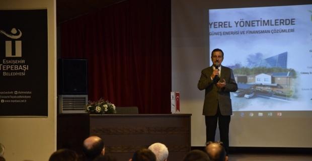 Yerel yönetimlerde güneş enerjisi semineri