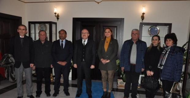 CHP'li vekillerden Afyonkarahisar Valisi Tutulmaz'a ziyaret