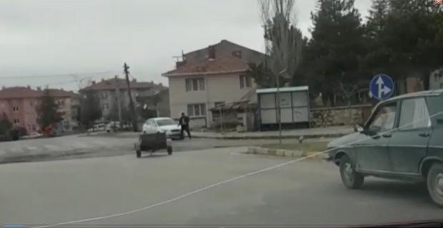 Emet'te ilginç kaza