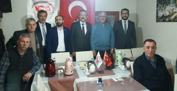 İYİ Partililer Muhacirleri ziyaret etti