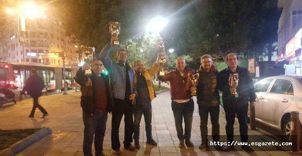 Adalar Briç takımı Türkiye 2.cisi  oldu