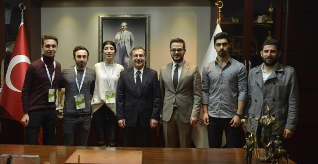 Ahbap'tan Ataç'a ziyaret