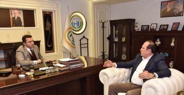 Başkan Adayı Tuç'tan Başkan Bakıcı'ya ziyaret