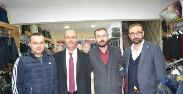 Başkan Bozkurt'tan esnaf ziyareti