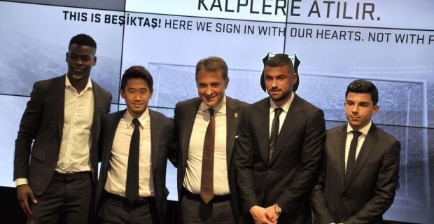 Beşiktaş'ta imza şov