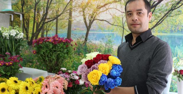 Çiçekçilikte artık teknolojiyi yakalayan kazanıyor
