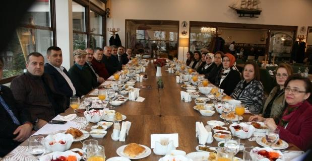 Cirit, Akarca ve Yavuz'dan Kütahyalı iş adamı Güral'a ziyaret