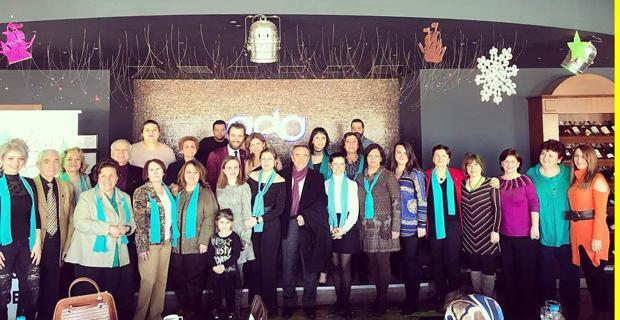 ETOS üyeleri Sevgi Günü'nde bir araya geldi