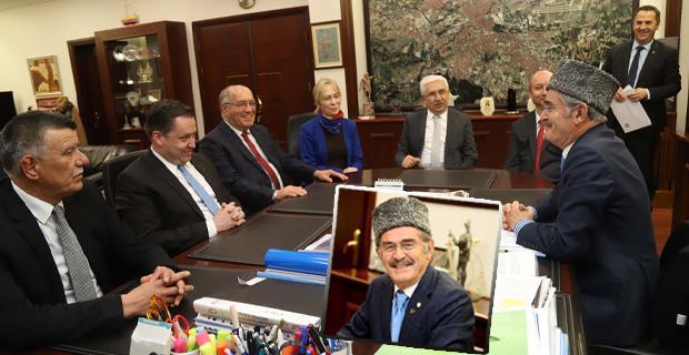 Kırım Tatarlarından Büyükerşen'e teşekkür