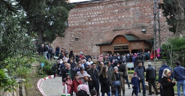 Osmanlı Padişahları Tarih Şeridi'ne ziyaretçi akını