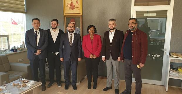 Tanzanya Ankara Büyükelçisi Eskişehir'de