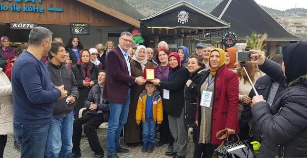 Vezirhan Belediyesi Engelliler ve Gaziler Derneğini ağırladı