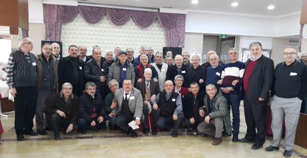 Yetiştirme yurdu mezunları 45 yıl sonra buluştu