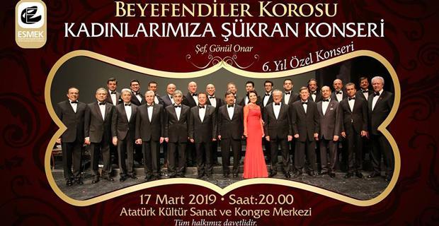 Beyefendiler Korosu-Kadınlarımıza Şükran konseri/17 Mart