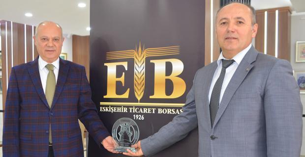Borsa'ya Yılın kuruluşu ödülü