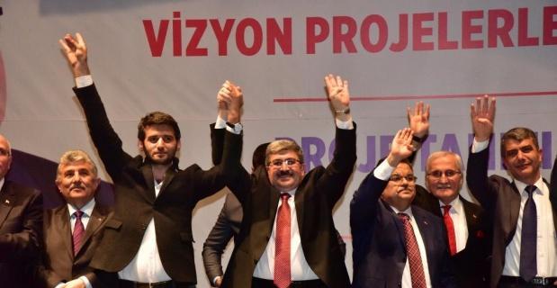 Cumhur İttifakı Belediye Başkan Adayı Can, 23 vizyon projesini açıkladı