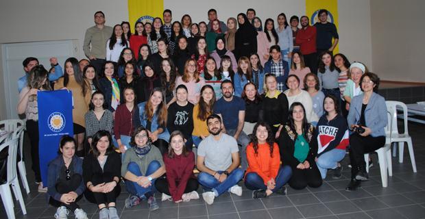 Eğitim Gönüllülerinden 'bahara merhaba' buluşması