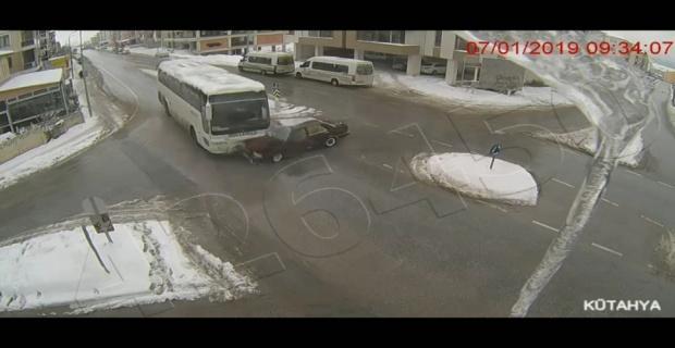 Kaza görüntüleri kameralarda/Kütahy