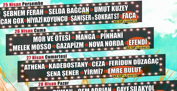 Müziğin yıldızları Eskişehir'de buluşacak