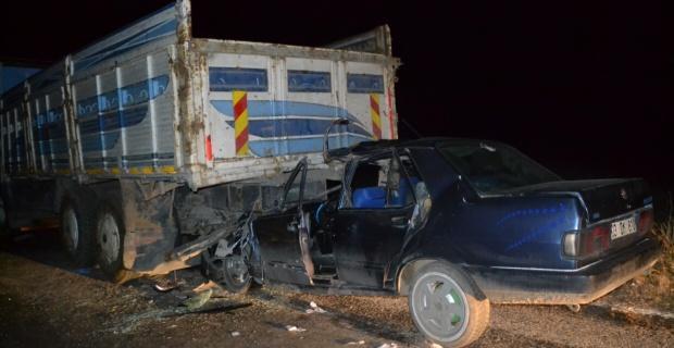 Trafik kazası:1 ölü/Afyonkarahisar