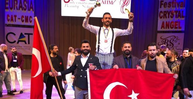 Ali İhsan Soydoğan Dünya üçüncüsü oldu