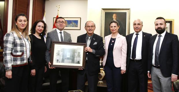 Baro'dan Büyükerşen'e ziyaret