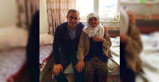 Başkan Alim Işık, anne duası aldı